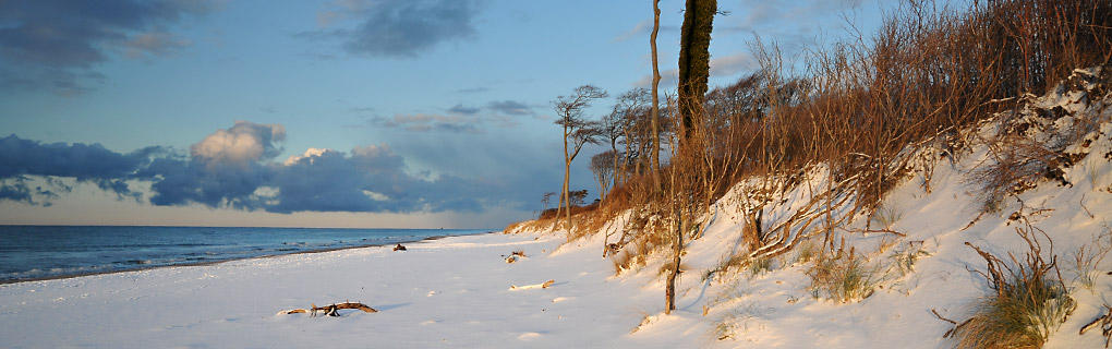 Winterstimmung am Ostseestrand